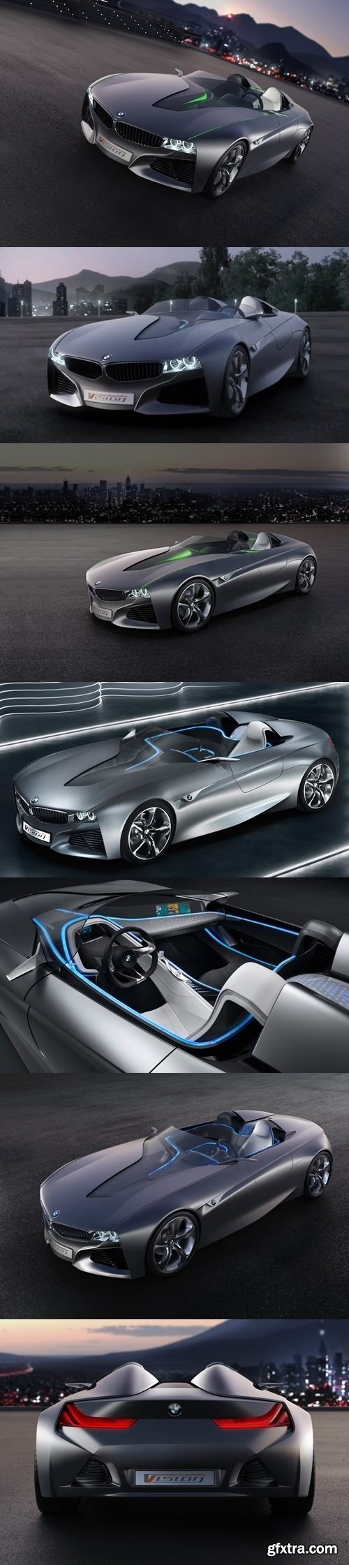 BMW Vision connected drive concept 3D Model