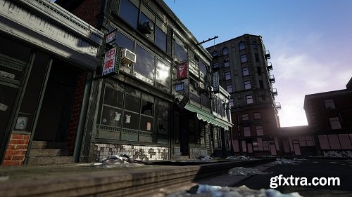 Unreal Engine - Modular Building Set
