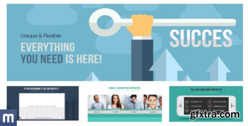 VideoHive Unique & Flexible - Flat Company Promotion 8172753