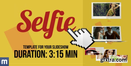 VideoHive Selfie - Template For Your Slideshow 8434935