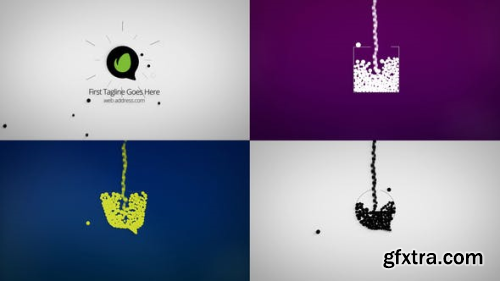 VideoHive Dynamic Minimal Logo Reveals Set 24593057