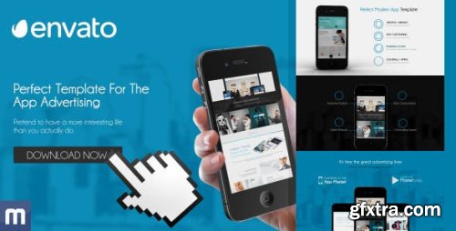 VideoHive Template For The App Advertising 8489125