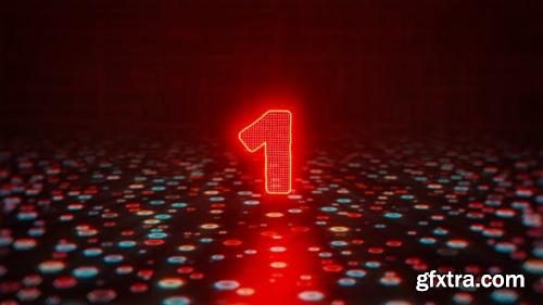 VideoHive Glitch Countdown Logo 24569440