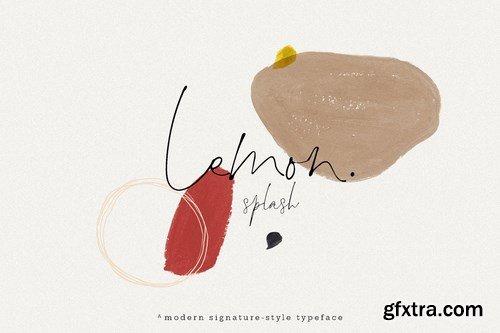 Lemon Splash Font