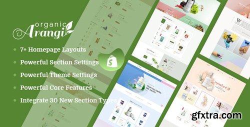 ThemeForest - Arangi v1.0.0 - Organic & Healthy Products Shopify Theme - 24443383