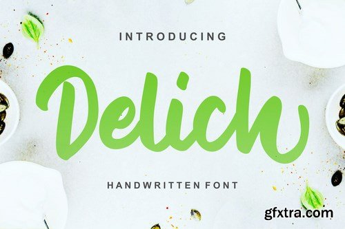 Delich Handwritten Script Font