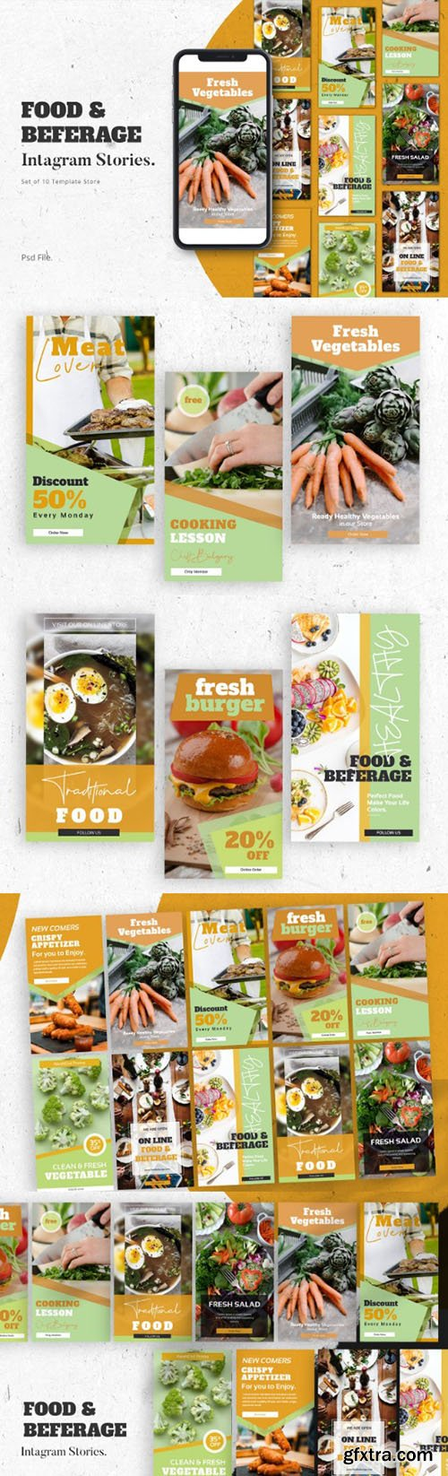 Food & Beferage Instagram Stories Template