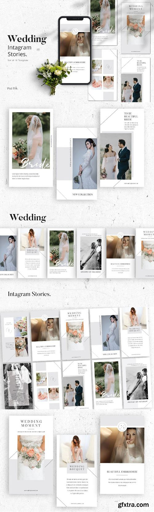 Wedding Moment Instagram Stories Template