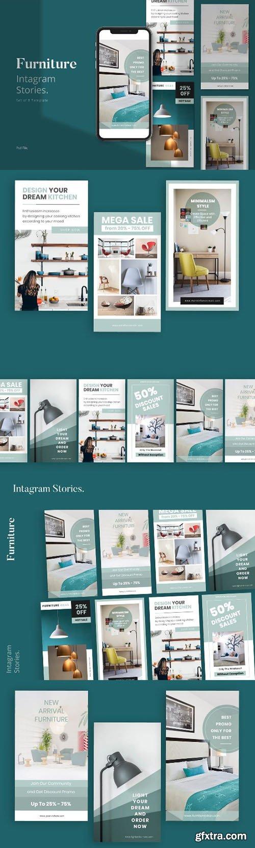 Furniture Social Media Instagram Stories Template