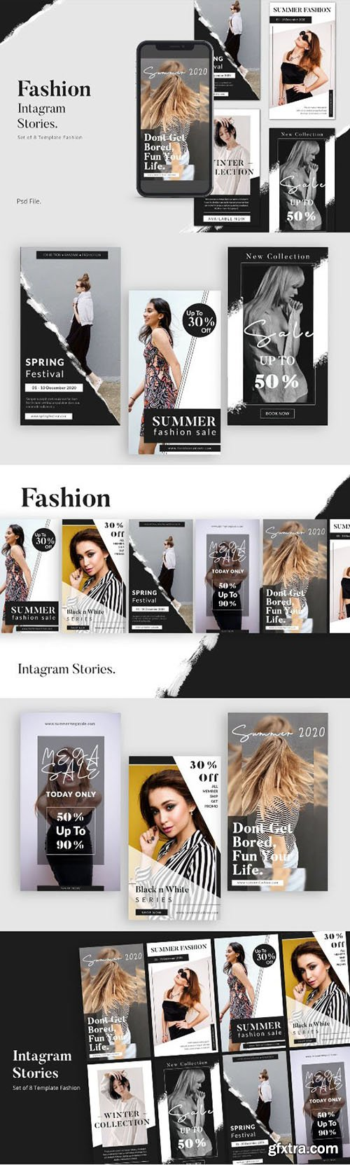 Fashion Social Media Instagram Stories Template