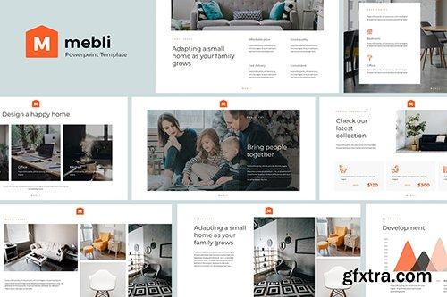 MEBLI - Simple & Elegant Powerpoint Template