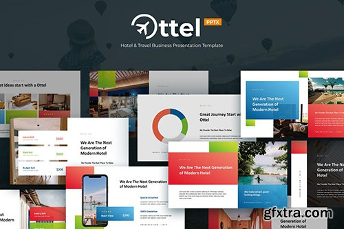 OTTEL - Travel & Hospitality Powerpoint Template
