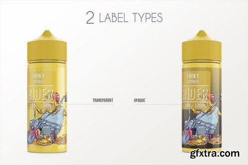 eLiquid Bottle Mockup v 120ml-B