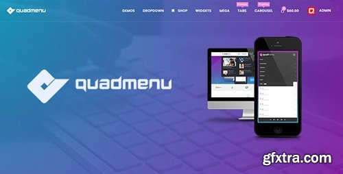 CodeCanyon - QuadMenu Pro v1 8 0 - Themes Developer Mega