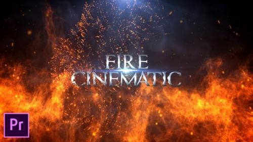 Udemy - Fire Cinematic Titles - Premiere Pro