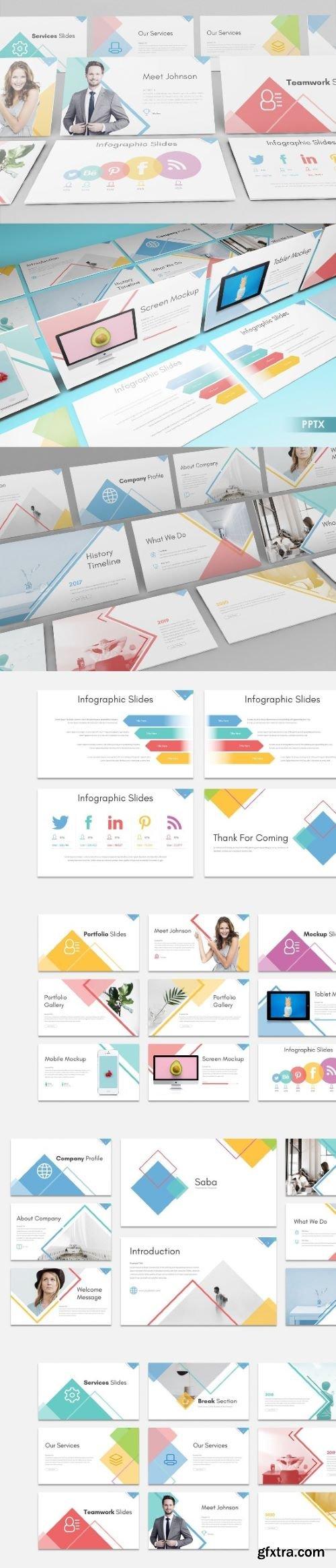 SABA - PPT, Keynote and Google Slides