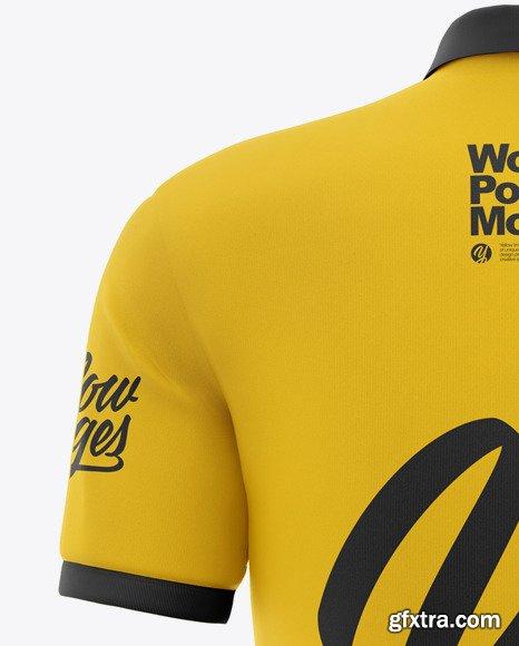 Women's Short Sleeve Polo Shirt Mockup 48495