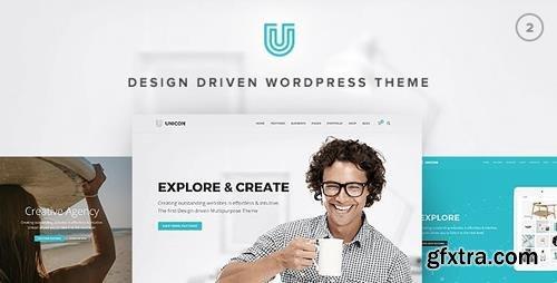 ThemeForest - Unicon v2.6 - Design-Driven Multipurpose Theme - 10648488