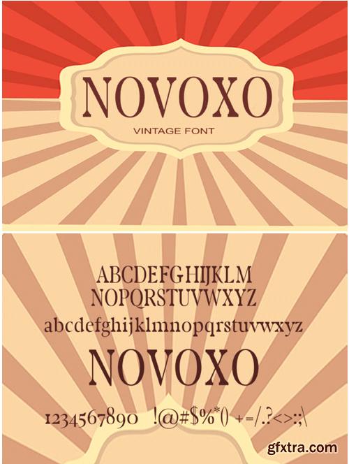 Novoxo Font