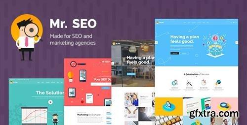 ThemeForest - Mr. SEO v1.7 - SEO, Marketing Agency and Social Media Theme - 19639484