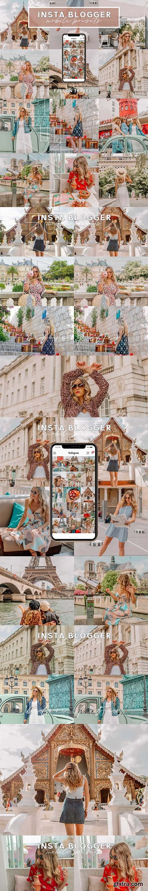 CreativeMarket - Instagram Presets Lightroom Mobile 4078131