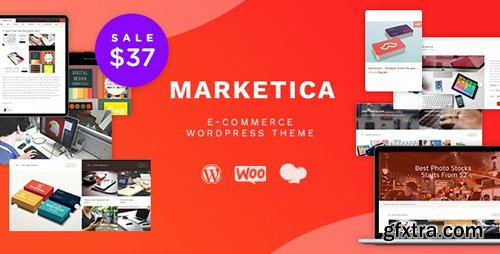 ThemeForest - Marketica v4.5.8 - eCommerce and Marketplace - WooCommerce WordPress Theme - 8988002
