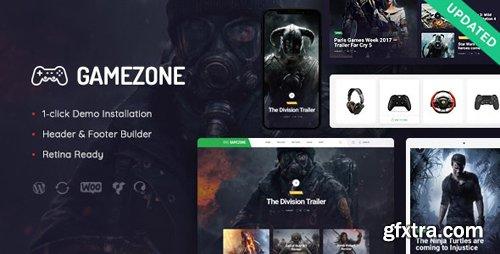 ThemeForest - Gamezone v1.1 - Video Gaming Blog & Esports Store WordPress Theme - 21617775