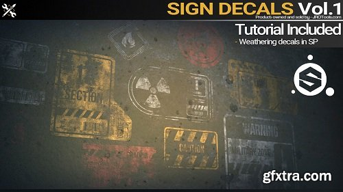 Art Station – Sign Decals Vol.1 + Tutorial