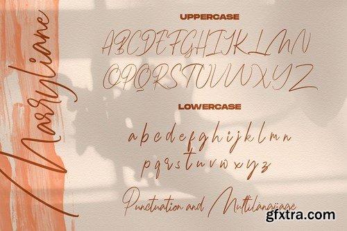 CM - Marryliane Handwriting Font 4101043