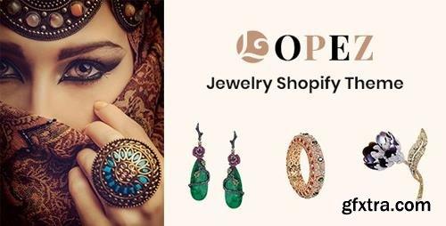 ThemeForest - Lopez v1.0 - Jewelry Shopify Theme - 24569372
