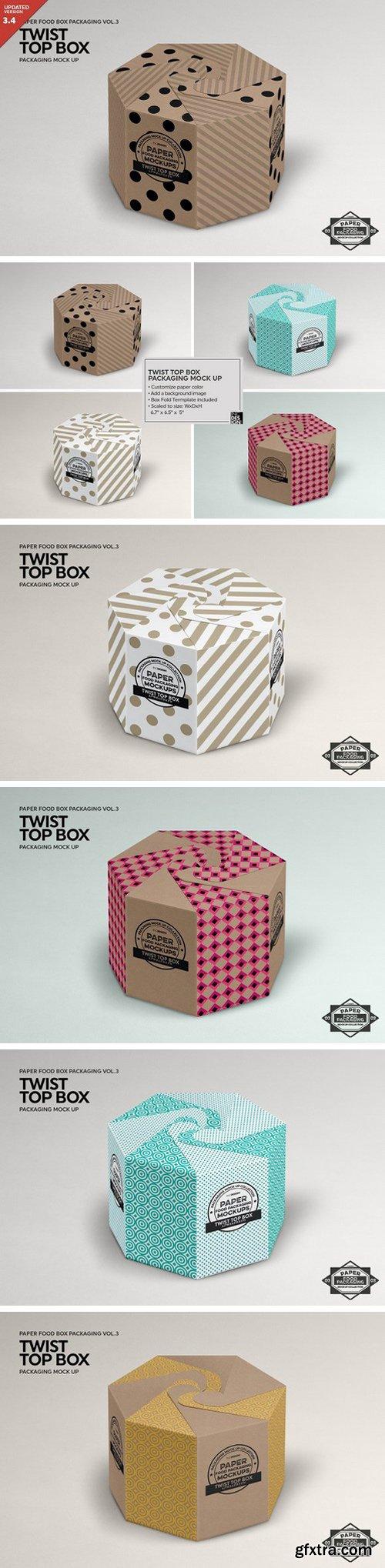 CM - Twist Top Box Packaging Mockup 1211253