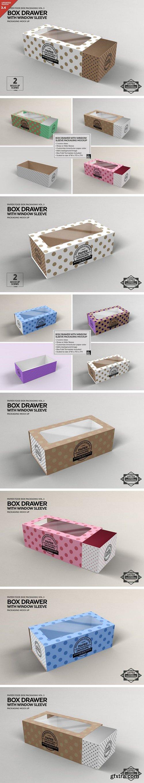 CM - Box Window Sleeve Packaging Mockup 1211250