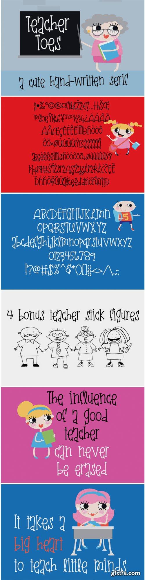 Teacher Toes 1765019