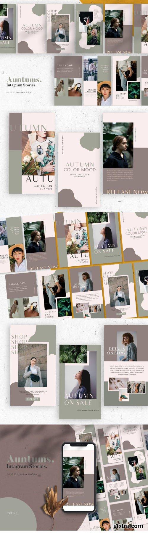 Auntums Promotion Intagram Stories