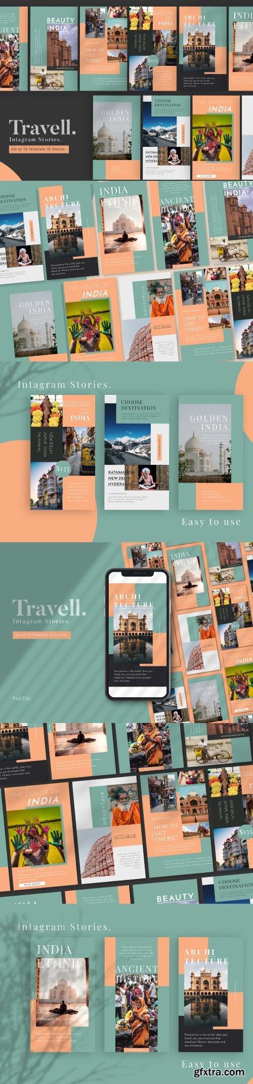 Travel Promotion Instagram Stories Templat