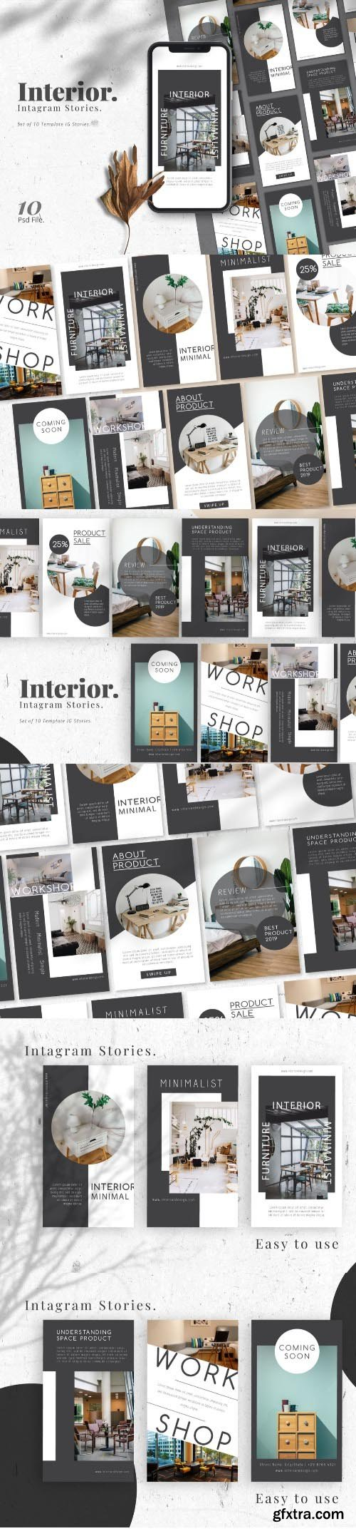 Interior Promotion IG Stories Template