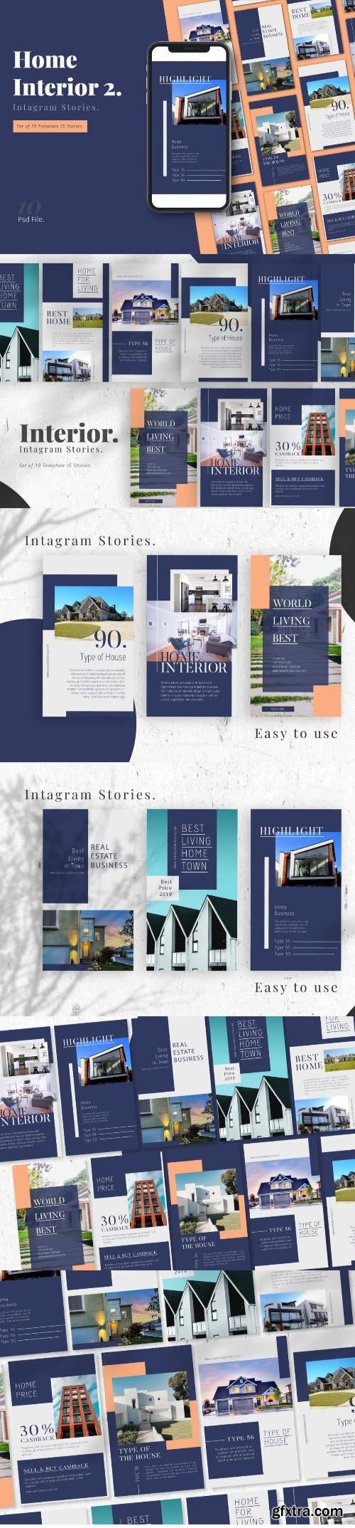 Interior Home Promotion Instagram Stories