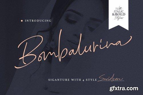 CM - Bombalurina Script (4 Fonts) 3995987