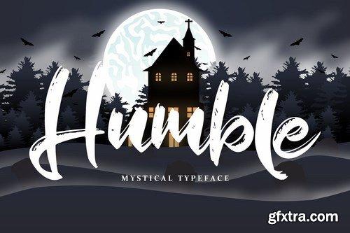 Humble Mystical Typeface