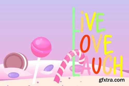 Lolipop Candy Funny Font