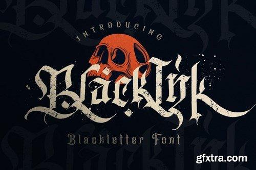 Blackink - Blackletter Font