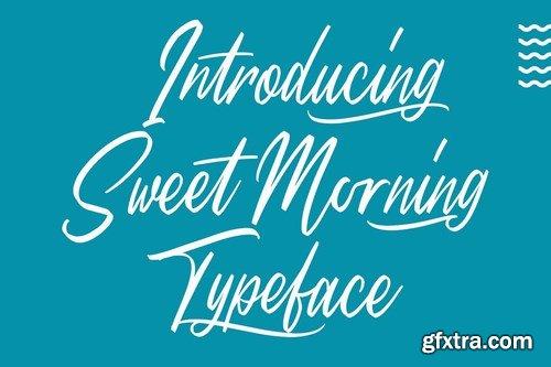CM - Sweet Morning - Script Font 4100861