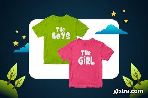 Little Stars - Fun Children Typeface