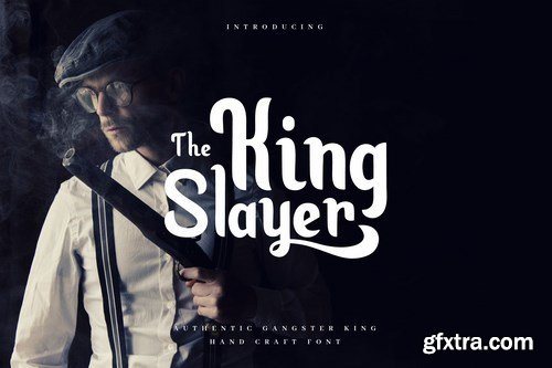 King Slayer - Elegant Serif Font