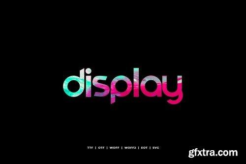 Comodo - Display Typeface + WebFonts