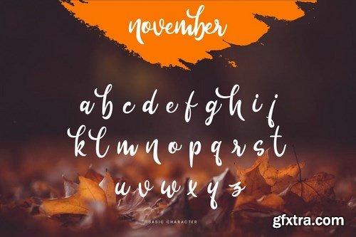 November - Beauty Signature Script