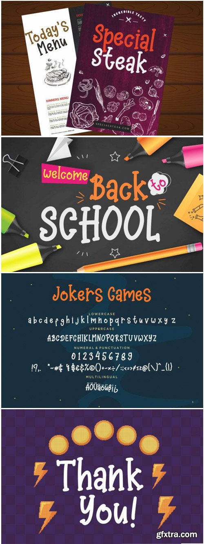 Jokers Games Font
