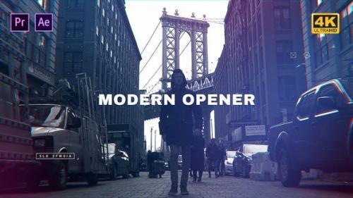 Udemy - Modern Opener Mogrt