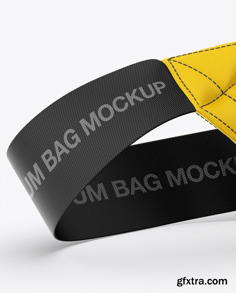 Bum Bag Mockup - Front Half-Side View 48741