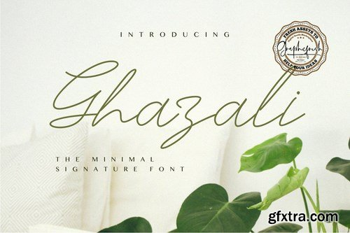 CM - Ghazali - The Minimal Signature Font 4108142